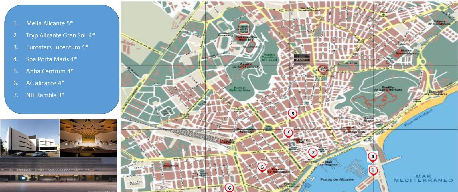 hoteles alicante mapa